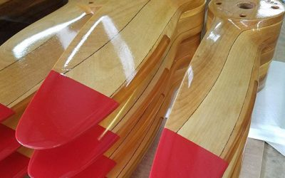 Recently updated instructions for wood aircraft propeller installation!